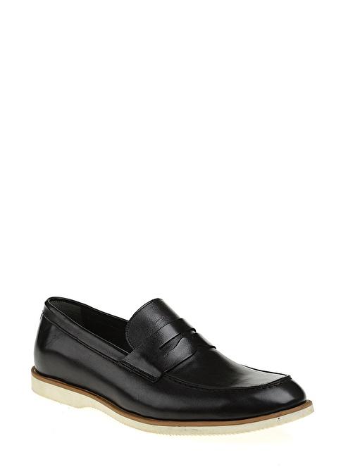 Baqietto %100 Deri Casual Ayakkabı Siyah